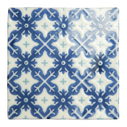 Products - This tile is by Winchester tile and is the Villette on Papyrus, .  Beautiful decorative accent tiles that can be used for the entire area or inserted as accents throughout the backsplash.  Why not mix the patterns to create your own personal colors and style.