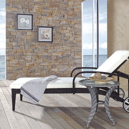 Alihn Mobile Chaise Lounge - Highlighted by the fact that it's mobile, adjustable and stylish, this Alihn Chaise Lounge is the perfect solution to your outdoor or indoor decor.