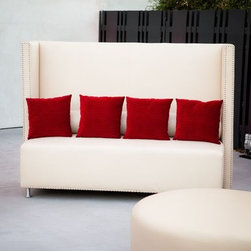 Somers Furniture - Dare To Be Square...Resort Collection - Lounge in comfort on your HighBack Outdoor Sofa!