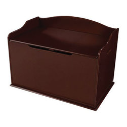 "KidKraft - Kidkraft Kids Room Gift Doll Organizer Play Toy Storage Box Bin Chest Cherry - Our Austin Toy Box lets kids keep all of their favorite toys in one convenient place. This sturdy toy box was built to last and would fit right in with any room setting. Dimension: 30.55""x 18.27""x 19.6"""