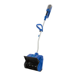 Snow Joe - iON Cordless Snow Shovel - Ideal for quick,easy and cord-free snow pickups on decks,steps and sidewalks,this snow shovel combines innovation and functionality. Featuring a rechargeable battery,this shovel can be the ultimate snow-busting tool.
