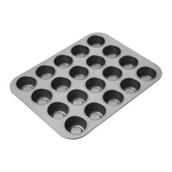 Chicago Metallic - Chicago Metallic Tea Cake Pan - The Mad Hatter's tea party probably could have used this tea cake pan. He didn't have it but you can. Pop out delicious bites of sweetness at a whim or bake individual bites of brownies. Don't forget to invite Alice.
