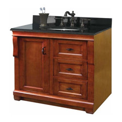 Foremost - Foremost Naples 30 Inch Vanity in Warm Cinnamon Finish - Foremost Naples 30 Inch Vanity in Warm Cinnamon Finish