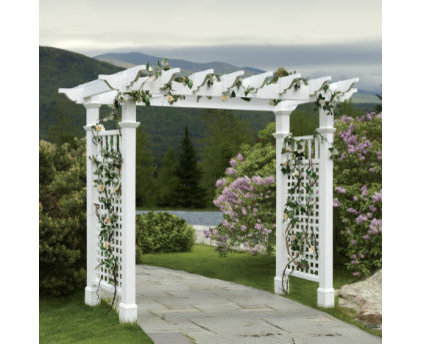 Traditional Pergolas Arbors And Trellises by Grandin Road