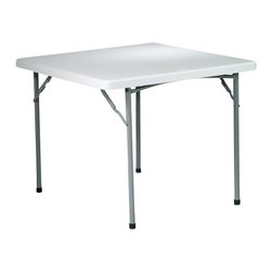 Office Star - Office Star 36 in. Square Resin Table - Office Star - Folding Tables - BT36
