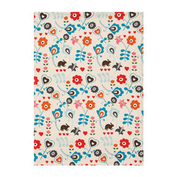 Tea Towel, Natural White/Patterned - This kitchen towel from the new H&M homeware collection is a total must!