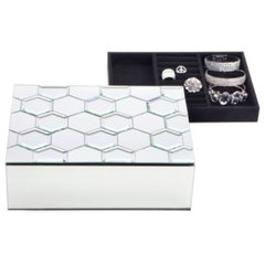 modern storage boxes by Z Gallerie
