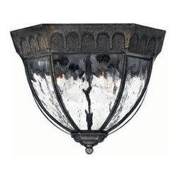 Hinkley Lighting - Hinkley Lighting 1713BG Regal 4-Light Outdoor Flush Mounts in Black Granite - Hinkley Lighting 1713BG Regal 4-Light Outdoor Flush Mounts in Black Granite