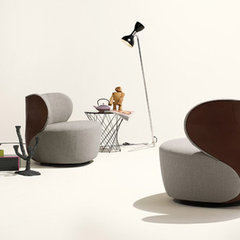 contemporary armchairs by walterknoll.de