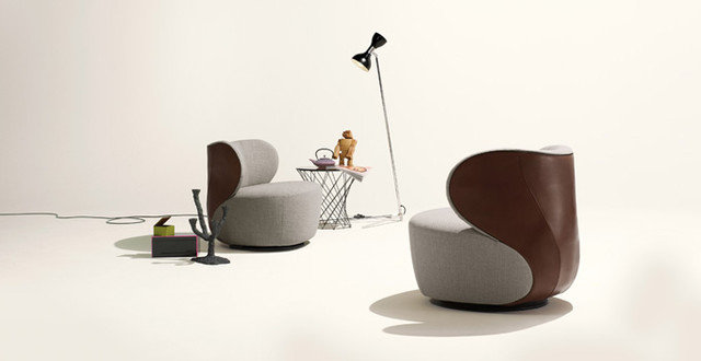 Contemporary Accent Chairs by walterknoll.de