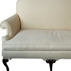 furniture - Queen Anne style sofa