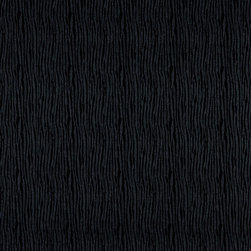 Black Textured Lined Upholstery Faux Leather By The Yard - This faux leather material is great for all indoor upholstery applications including residential and commercial. This pattern is uniquely made to combine luxury with durability. Our faux leathers are stain resistant, and easy to clean with mild soap and water.