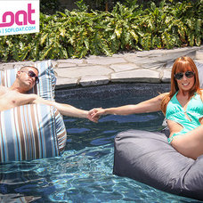 Outdoor Chaise Lounges Pool Floats by SoFloat designer floating bean bag