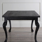 "Haute House ""Tuscan"" Dining Table - Carved legs and claw-and-ball feet add Old-World charm to this stately dining table."