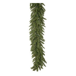 14 in. x 9 ft. Camdon Fir Pre-lit Garland - About VickermanThis product is proudly made by Vickerman a leader in high quality holiday decor. Founded in 1940 the Vickerman Company has established itself as an innovative company dedicated to exceeding the expectations of their customers. With a wide variety of remarkably realistic looking foliage greenery and beautiful trees Vickerman is a name you can trust for helping you create beloved holiday memories year after year.