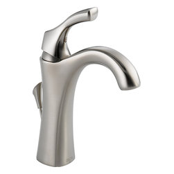 Delta Addison® Single Handle Centerset Lavatory Faucet - Delta Addison® Single Handle Centerset Lavatory Faucet, Brilliance® Stainless Finish, 592-SS-DST