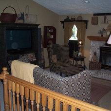 Traditional Living Room prim livingroom