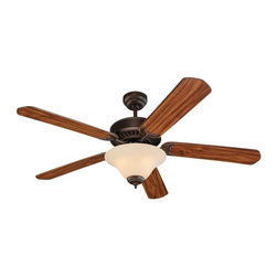 "Sea Gull Lighting - Sea Gull Lighting 52"" Quality Pro Deluxe Transitional Ceiling Fan X-191-B16151 - 4.5"" length x 0.5"" dia. downrod included."