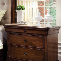 ART Furniture - Margaux Bedside Chest Stone Top - ART-166148-2630ST - Margaux Collection Bench