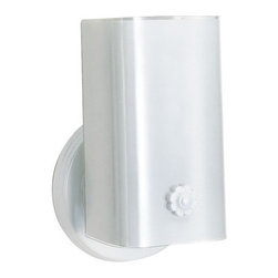 "Nuvo Lighting - Nuvo Lighting 77/989 Single Light 7"" Bathroom Fixture - Nuvo Lighting 77/989 Single Light 7"" Bathroom Fixture with White ""U"" Channel Glass in White FinishNuvo Lighting 77/989 Features:"