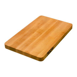 "John Boos - John Boos 16"" x 10"" Chop-N-Slice Maple Cutting Board - This 1-inch-thick edge-grain maple butcher block cutting board is 16 x 10 inches. It's one of dozens available at Butcher Block Co. Model 2112-6."