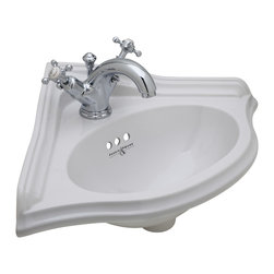 ROHL Perrin & Rowe Corner Basin and Lavatory Kit - ROHL