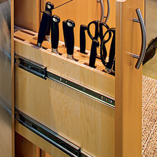 Knives and Whisks: Two Great Uses for Roll-Out Cabinets | Apartment Therapy The
