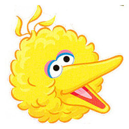 Blue Mountain Wallcoverings - Sesame Street Big Bird Self-Stick Wall Accent Stickers Set - FEATURES: