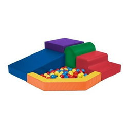 Ecr4kids - Ecr4Kids Softzone Pre-School Kids Toy Multicolor Primary Balls 120 Piece - Replacement Balls for ELR-0833. Balls are made from long-lasting polyethylene and come in a bright assortment of primary colors.
