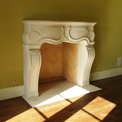 mediterranean fireplaces by American Masonry Supply, Inc.