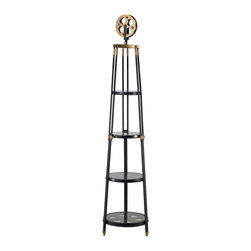 Sterling Industries - Sterling Industries 51-10025 Movie Reel Shelf - Tall - Shelf (1)
