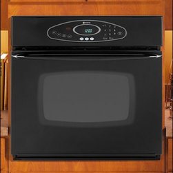 "Maytag - MEW5530DDB 30"" Single Electric Wall Oven With 3.8 Cu. Ft. Self-Cleaning Oven  Pr - This dependable 30 single electric wall oven is designed to deliver greater accuracy and better cooking results It features a broiler pan 2 oven racks and 38 cu ft of cooking space"