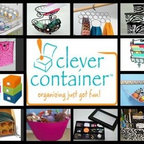 """Info - If you are looking for some great organizing products for all around your house and in your vehicle, look no further...I am now selling organizing products with """"Clever Container""""... they have a great variety of items at great prices! You can buy directly off my Clever Container website or contact me with questions!  www.mycleverbiz/organizedontagonize"""
