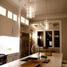Eclectic Kitchen by Marsh and Clark Design