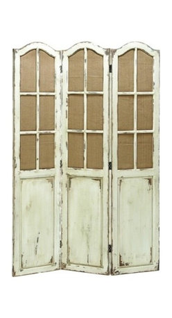 "Benzara - Simple and Elegant Folding Wooden Screen with Paneled Design - Simple and Elegant Folding Wooden Screen with Paneled Design. We often need wooden screens to store things. It comes with a dimension of 71"" H x 48"" W x 1"" D."