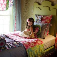 Eclectic Kids Bedding by Jack and Jill Interiors