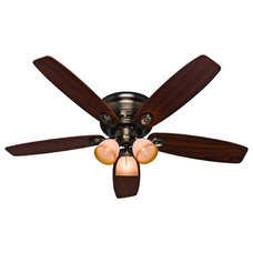 "Traditional Ceiling Fans by Santa Monica Bay Lighting Since ""1976"""