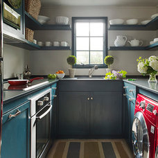 Traditional Laundry Room by Shor Home