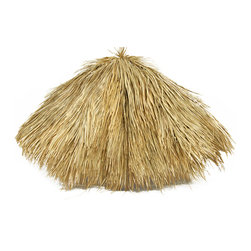 Mexican Palm Thatch Umbrella 9'D - Mexican Palm Thatch Umbrella 9'D