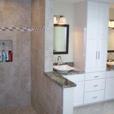 Traditional Bathroom by Volkman Kitchen and Bath