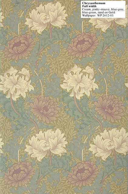 Traditional Wallpaper by historicstyle.com