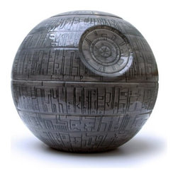 'Star Wars' Death Star Cookie Jar - Yep, I got this Death Star cookie jar for my brother. It's big. You can also get R2-D2 and Darth Vader if you have the counter space. And the cookies.