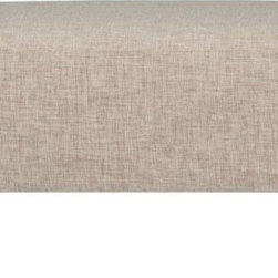 Lotus Natural Ottoman - If keeping your living room a neutral space with natural elements is your goal, then this Lotus Ottoman from CB2 is perfect for you. I like that it can double as a coffee table if needed.