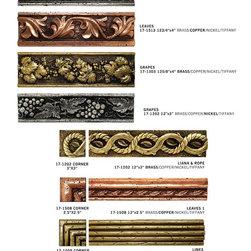 July 2014 Handmade Metallized Artistic 3D Tiles & Trims -
