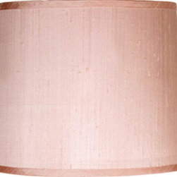 Maura Daniel Luca Silk Shade - When you're looking to add those perfect finishing touches to your little girl's room or nursery, consider the power of a unique lamp shade. Understated yet clearly contributing to any modern-minded space, this sleek rectangle choice will look great in any modern space.