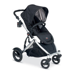 Britax - Britax B-Ready Stroller - Black - U281793 - Shop for Carriages and Strollers from Hayneedle.com! Be ready to hit the town or the flea market with the Britax B-Ready Stroller - Black. This stroller has so many uses it's the only one you'll ever need. The B-Ready includes one seat for children six months and up up to 55 lbs. Purchase a second seat like this one and you've got even more ways to enjoy this stroller. In all there are over 14 possible ways to configure seats car seats and bassinets on the B-Ready. Additional features Reversible top seat faces forward or backward and has 3 reclining positions Large under-seat storage is accessible from all sides Large canopy with sun visor and ventilation window Folds easily and features an automatic chassis lock Adjustable handle height offers both parents comfort One-step linked brake locks both rear wheels with one step All-wheel suspension for a smooth ride Storage bag is removable Includes insulated drink holders About BritaxBritax has been a leading innovator in child seat safety and ease of use for over 70 years. The bestselling child car seat manufacturer in Europe Britax came to the United States market in 1996 and quickly became one of the most-trusted child car seat brands in the country. Dedicated to child safety Britax puts their products through rigorous testing and works with vehicle manufacturers to come up with vehicle design improvements to enhance child safety and performance of car seats. Britax also realizes that today's parents like to show off their flair for style and this understanding is reflected in their car seats' unique designs and easy-to-clean fabrics.