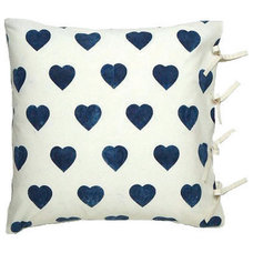 Contemporary Decorative Pillows by Les Indiennes