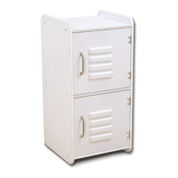 Kidkraft - KidKraft Medium Locker in White - Kidkraft - Storage Bins - 14321 - Our Medium Locker is the perfect way to keep rooms tidy. This durable locker would look great in any child's room and can help kids organize everything from their favorite toys to important school supplies.