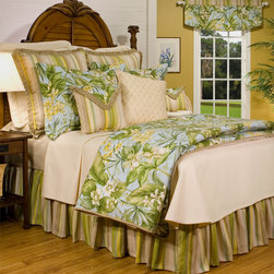 "Thomasville at Home - ""Paradise Point"" Coverlet by Thomasville at Home - Paradise Point Coverlet by Thomasville at Home from Kellsson Home Linens"