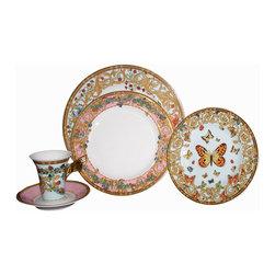 Versace - Versace Le Jardin 72-Piece Dinnerware Set - Versace Le Jardin 72-Piece Set